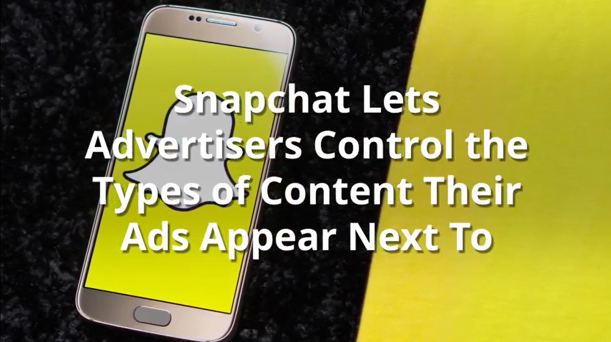 Digital industry news #8 | Snapchat lets advertisers control ad placement