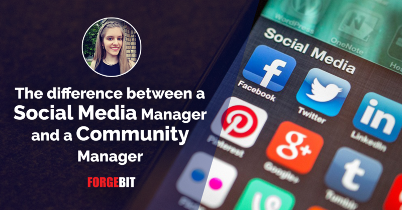 The Difference Between a Social Media Manager and a Community Manager