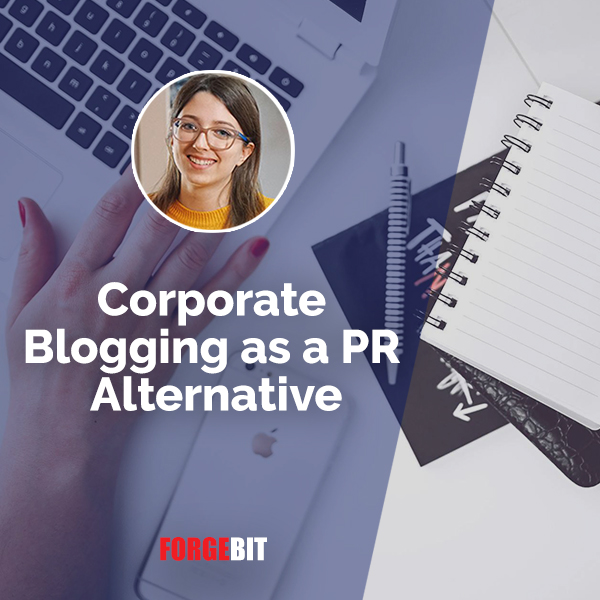Corporate Blogging as a PR Alternative