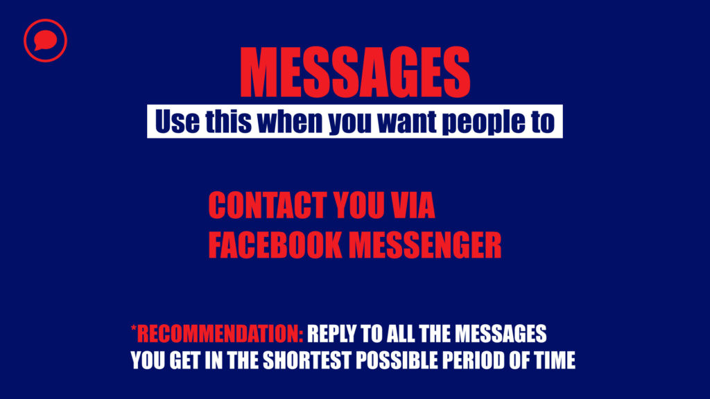 Messages campaign objective