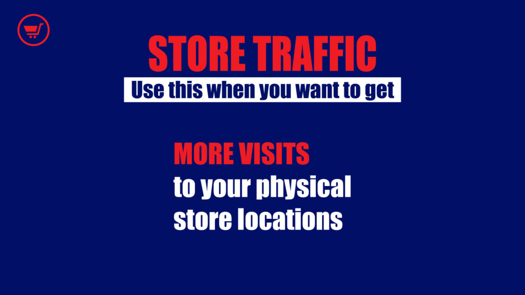 Store traffic campaign optimization
